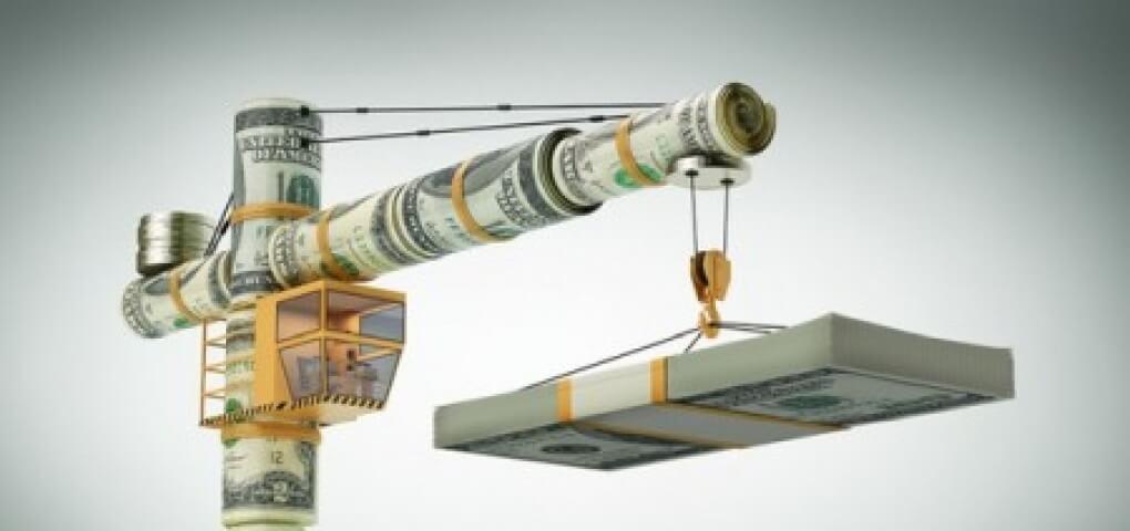 кран и деньги
