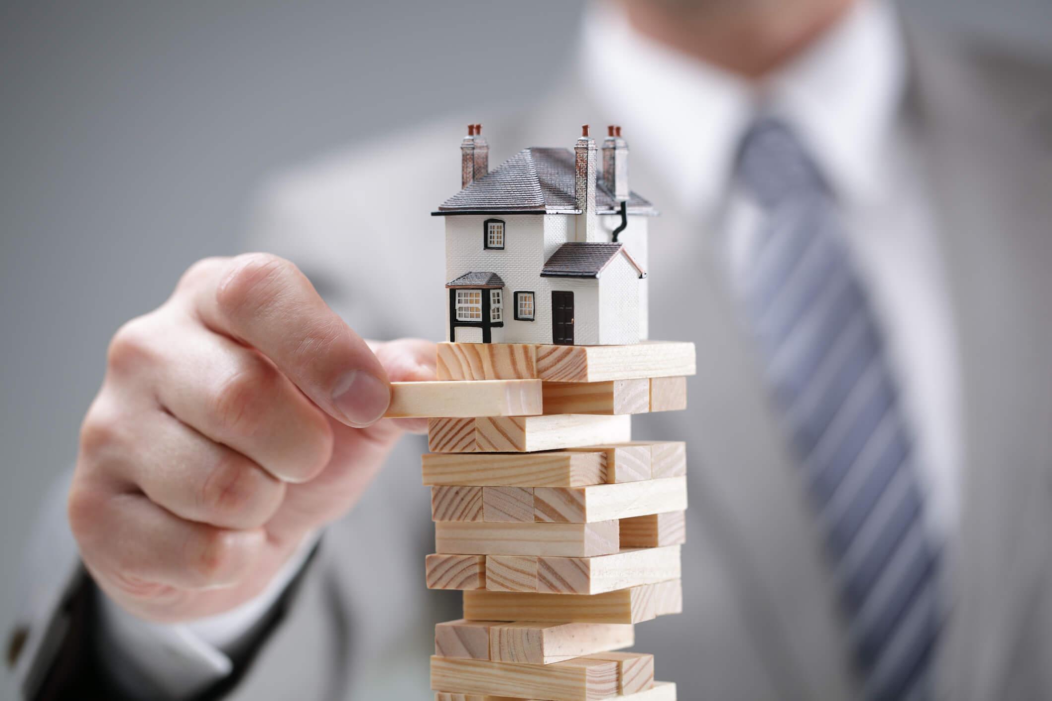 риск крушения дома
